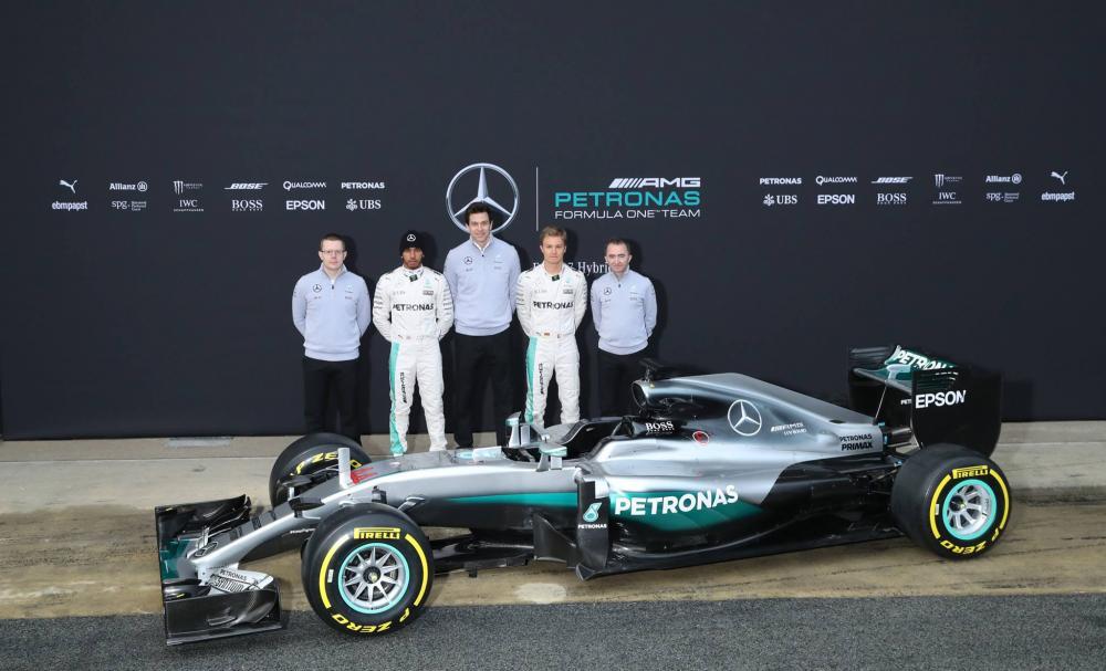 Découvrez toutes les F1 de la saison 2016