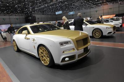 Rolls Royce Wraith Mansory