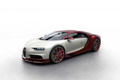 La Bugatti Chiron dévoile sa palette de couleurs
