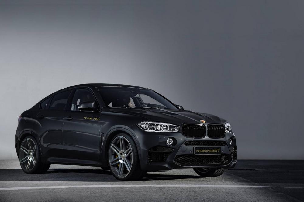 BMW X6 M II par Manhart