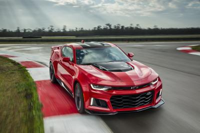 Chevrolet Camaro ZL1 2016 (officiel)