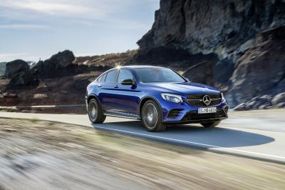 Mercedes GLC Coupé 2016 (officiel)