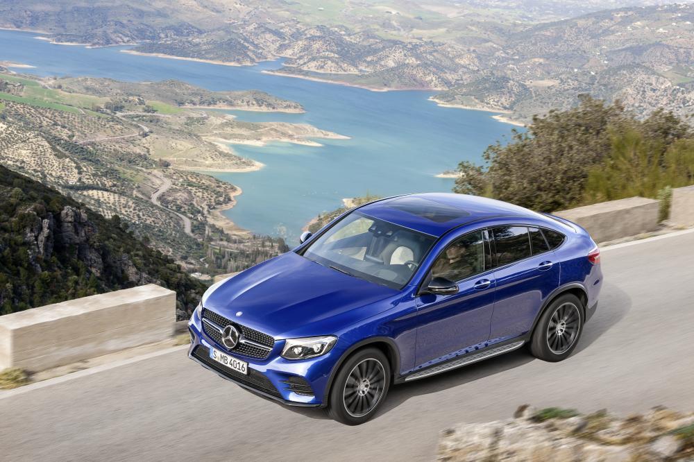 Mercedes GLC Coupé 2016 (officiel)