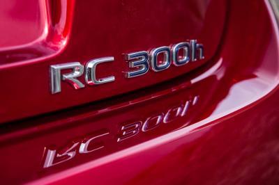 Lexus RC 300h 2016 (essai)