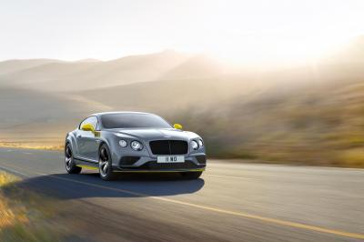Bentley Continental GT Speed 2016 (officiel)
