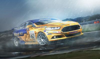 Quand les nouveaux modèles sont imaginés en voitures de course vintages