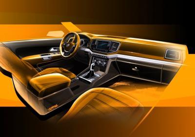 Teasers Volkswagen Amarok restylé 2016 (officiel)