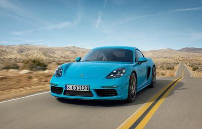 Porsche 718 Cayman 2016 (officiel)