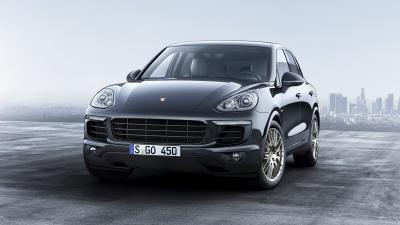 Porsche Cayenne Platinum 2016 (officiel)