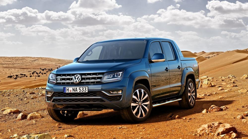 Volkswagen Amarok restylé 2016 (officiel)