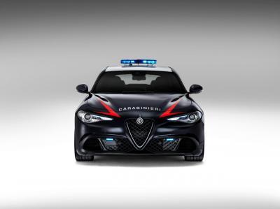 Alfa Romeo Giulia Quadrifoglio Carabinieri