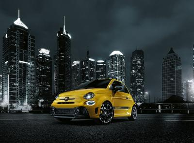 Abarth 595 restylée 2016 (officiel)