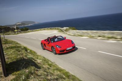 Porsche 718 Boxster 2016 (essai)