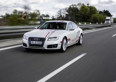 Audi A7 autonome 2016