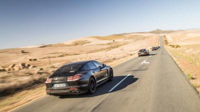 Porsche Panamera II prototypes (officiel)