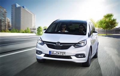 Opel Zafira restylé 2016 (officiel)