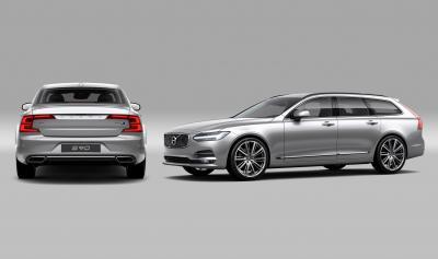 Volvo S90 et V90 Polestar Performance Pack