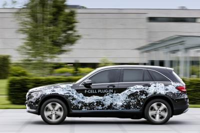 Mercedes GLC F-CELL 2017 (officiel)