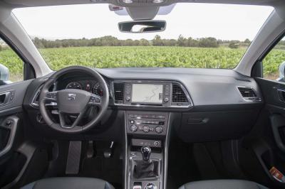 Essai SEAT Ateca TDI 150 2016 (essai)