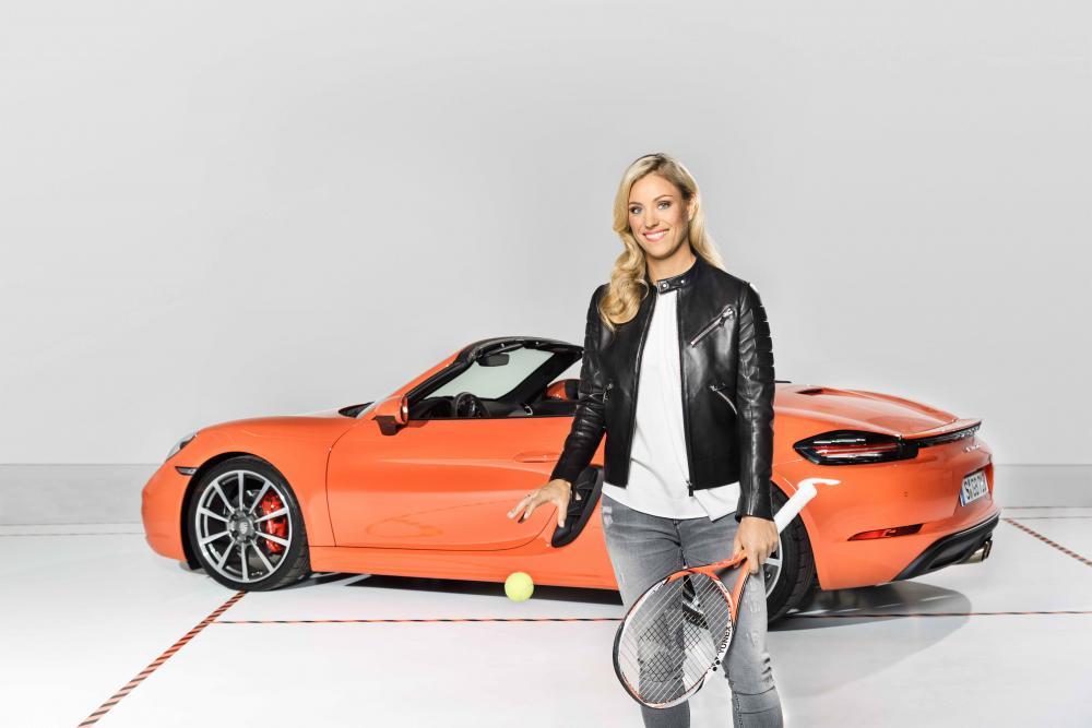 Angelique Kerber est la nouvelle ambassadrice Porsche