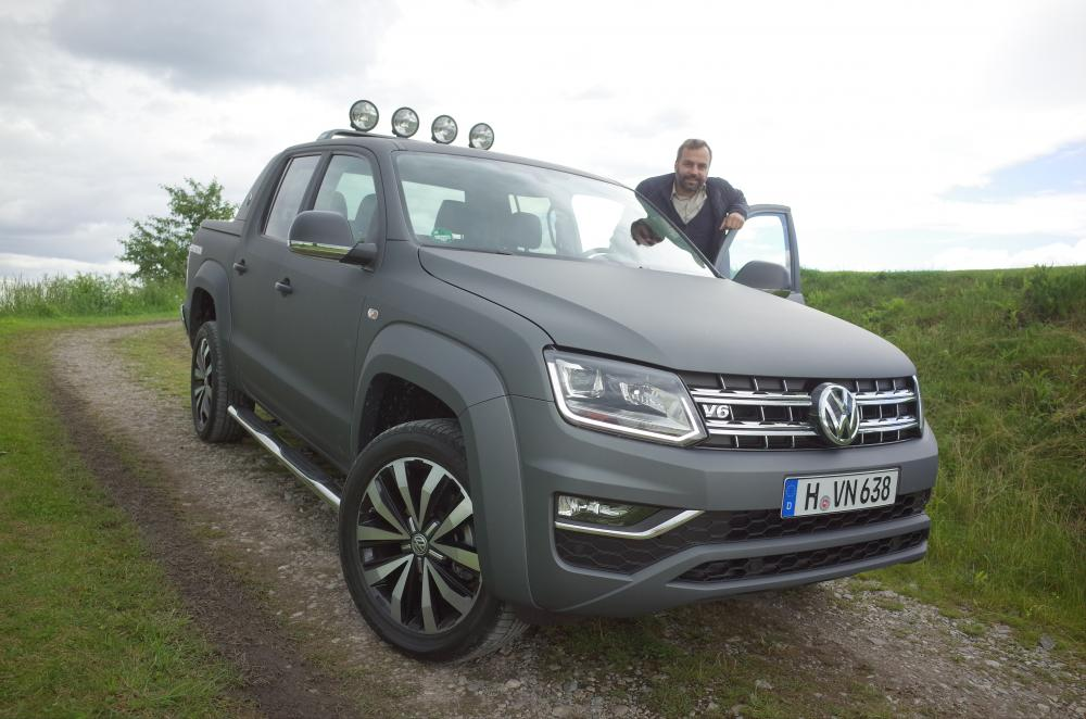 essai volkswagen amarok v6 tdi restyl pick up sauce suv. Black Bedroom Furniture Sets. Home Design Ideas