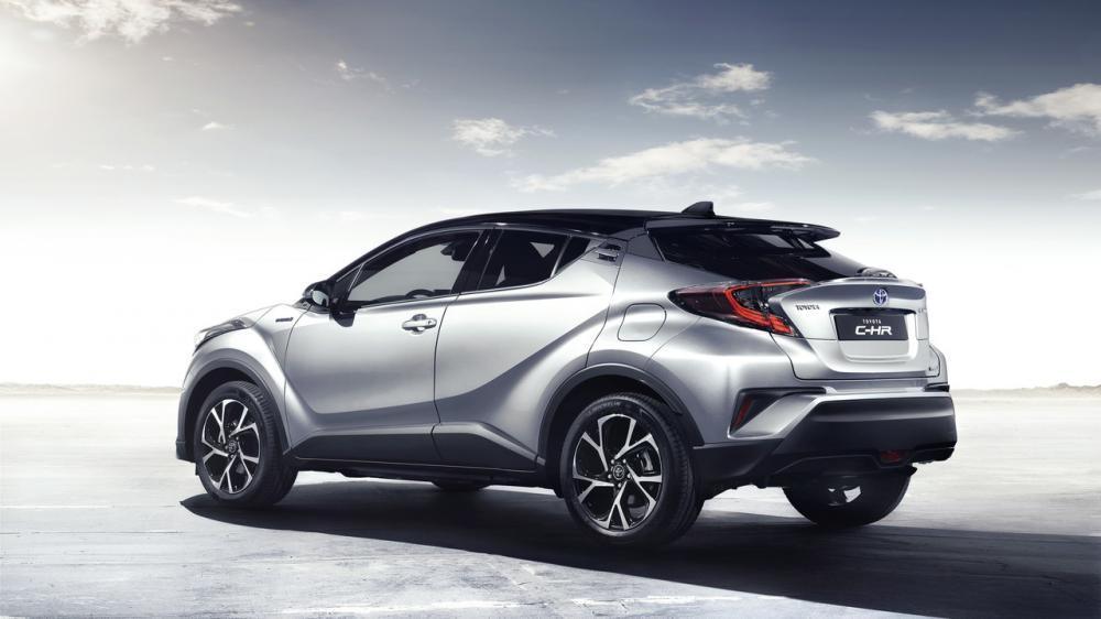 Toyota C-HR 2016 (officiel)