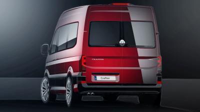 Volkswagen Crafter (croquis)