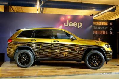 Trois Jeep uniques débarquent au Montreux Jazz Festival 2016