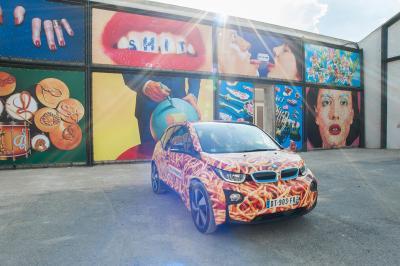 La BMW i3 se transforme en plat de spaghetti au nom de l'art