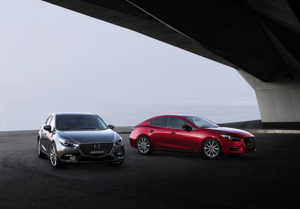 Mazda 3 restylée 2017 (officiel)