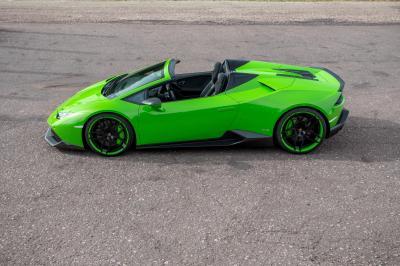 Lamborghini Huracan Spyder par Novitec Torado
