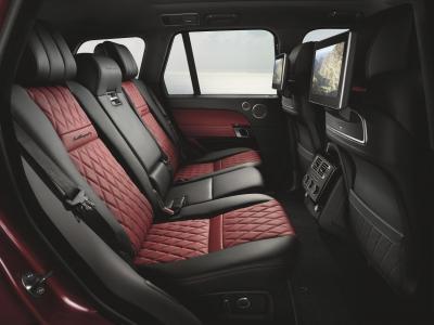 Range Rover restylé 2017 (officiel)