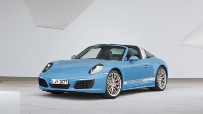 Porsche 911 Targa 4S Exclusive Design Edition 2016 (officiel)