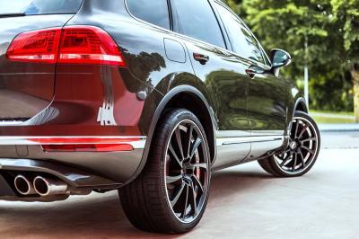 Volkswagen Touareg V8 TDI par ABT