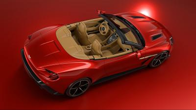 Aston Martin Vanquish Zagato Roadster (officiel)