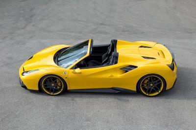 Ferrari 488 Spider par Novitec Rosso