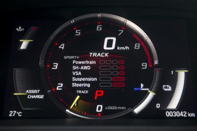 Honda NSX (2016 - essai)