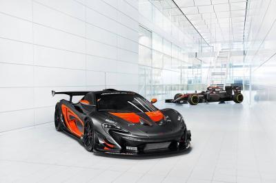 McLaren P1 GTR et MP4/31
