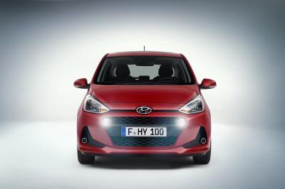 Hyundai i10 restylée (2016 - officiel)