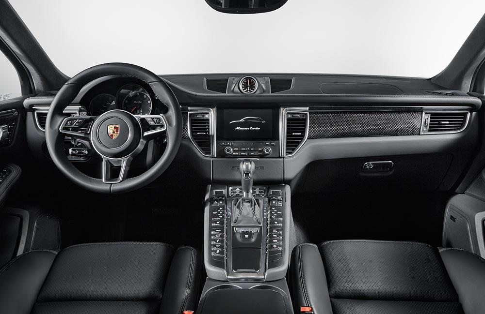 Porsche Macan Turbo Performance Package 2016 (officiel)