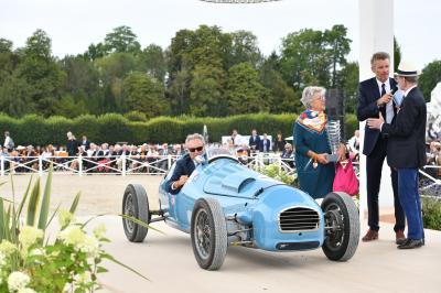 Les voitures primées aux concours Arts et Elegance de Chantilly