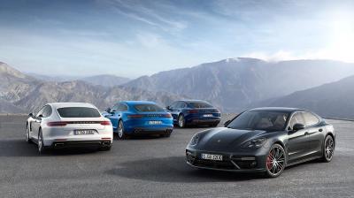 Nouvelle Porsche Panamera 4 E-Hybrid 2017 (officiel)