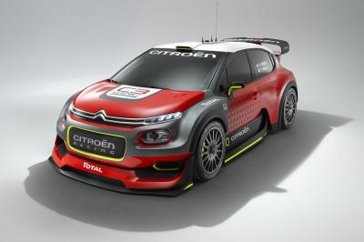 Citroën C3 WRC 2017 (officiel)