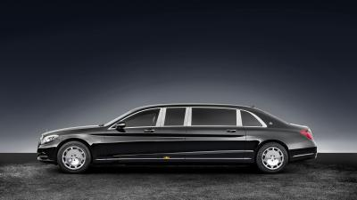 Mercedes-Maybach S 600 Pullman Guard (officiel)
