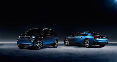 BMW i3 et i8 Crossfade (officiel)