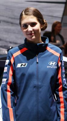 Hôtesses Mondial Auto 2016