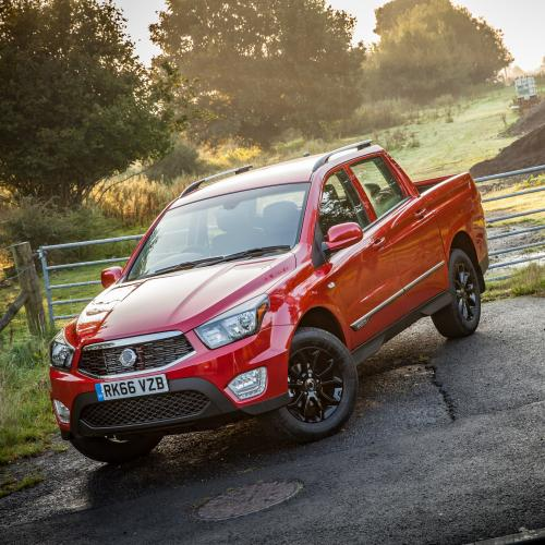 SsangYong Musso (officiel)