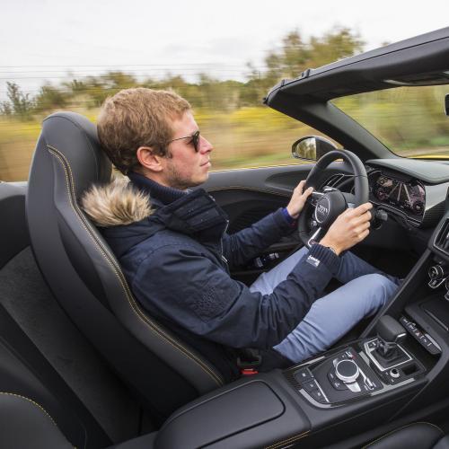 Audi R8 Spyder (2016 - essai)