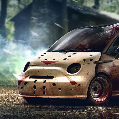 Les voitures aussi se déguisent pour Halloween
