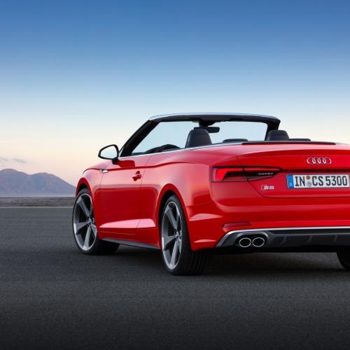 Audi A5 et S5 Cabriolet 2017 (officiel)